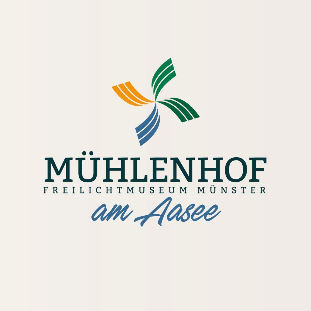 Logodesign: Mühlenhof Freilichtmuseum Münster
