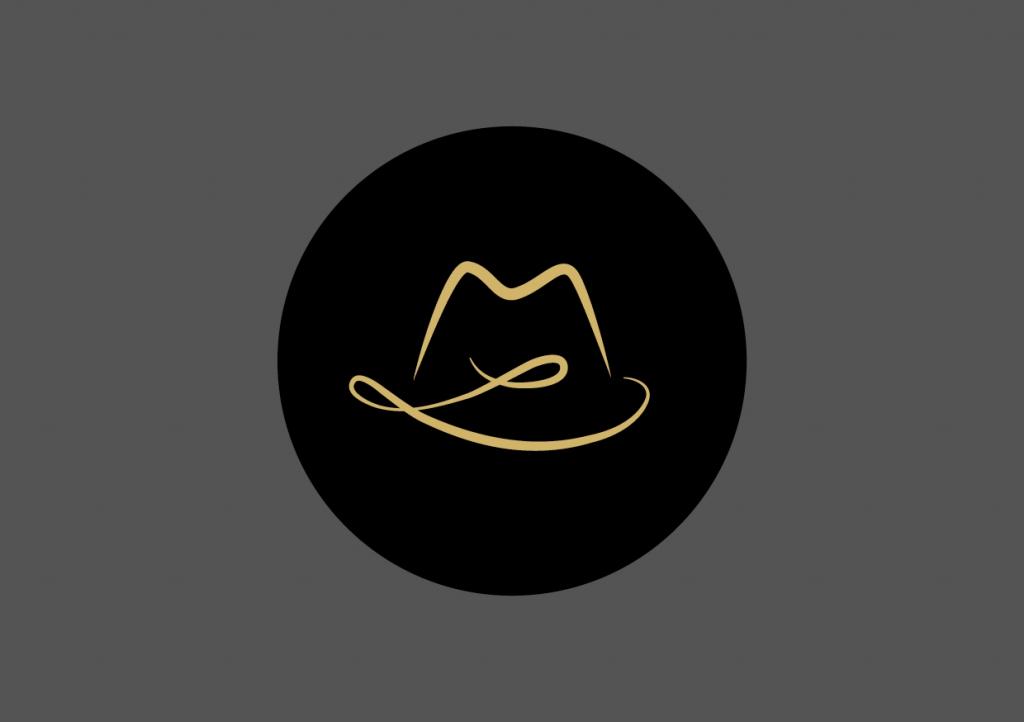 Logodesign: Der Hutmacher // Matthias Lueb
