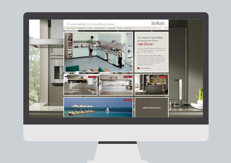 siematic traumgewinne stockwerk1 b ro f r werbung und design. Black Bedroom Furniture Sets. Home Design Ideas