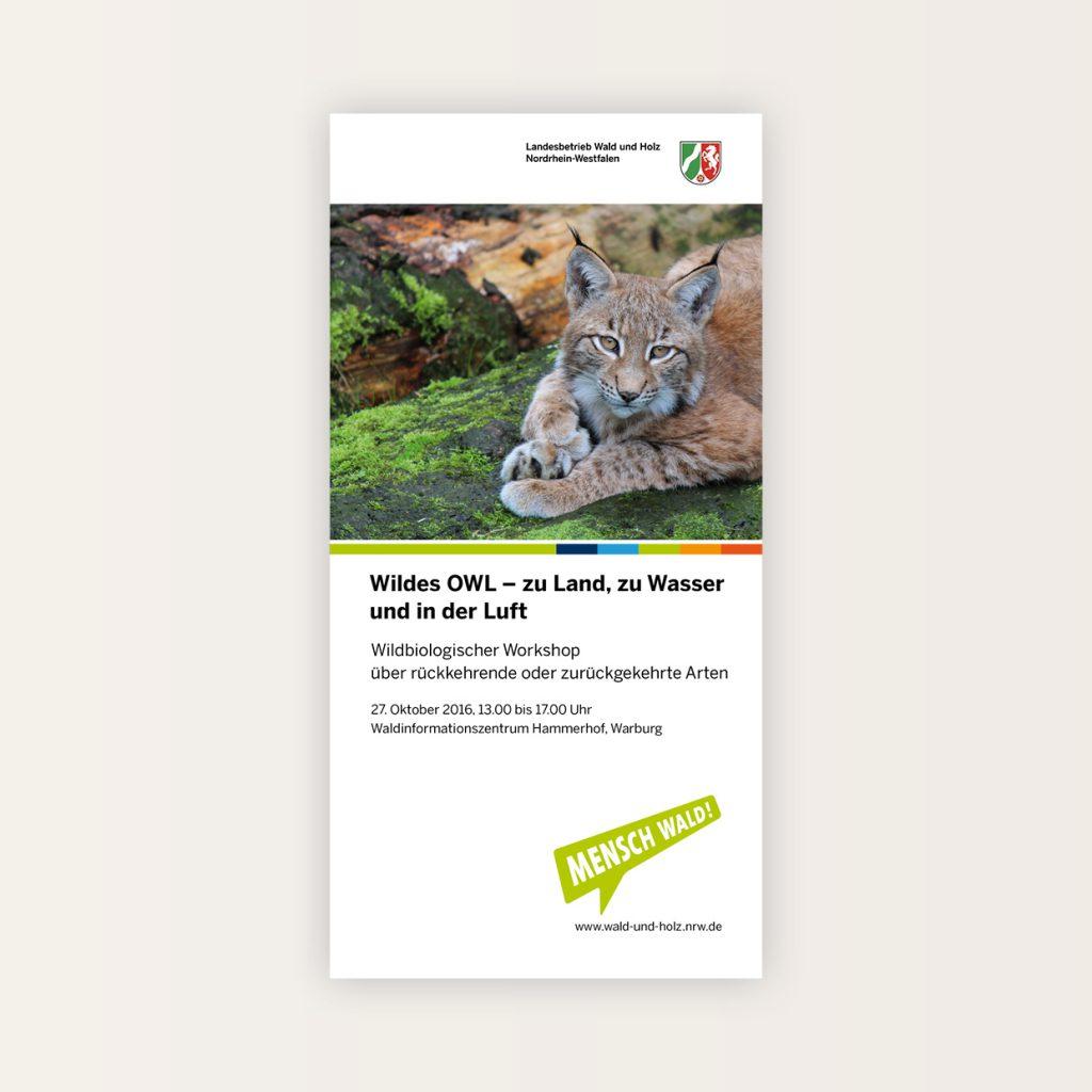Printmedien: Landesbetrieb Wald und Holz NRW